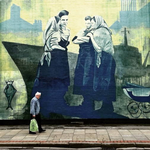 Terrace Enders, mural, Hessle Road. Simon Fitch